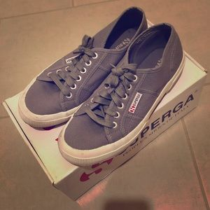 Superga Cory Classic Sneakers in Grey Sage